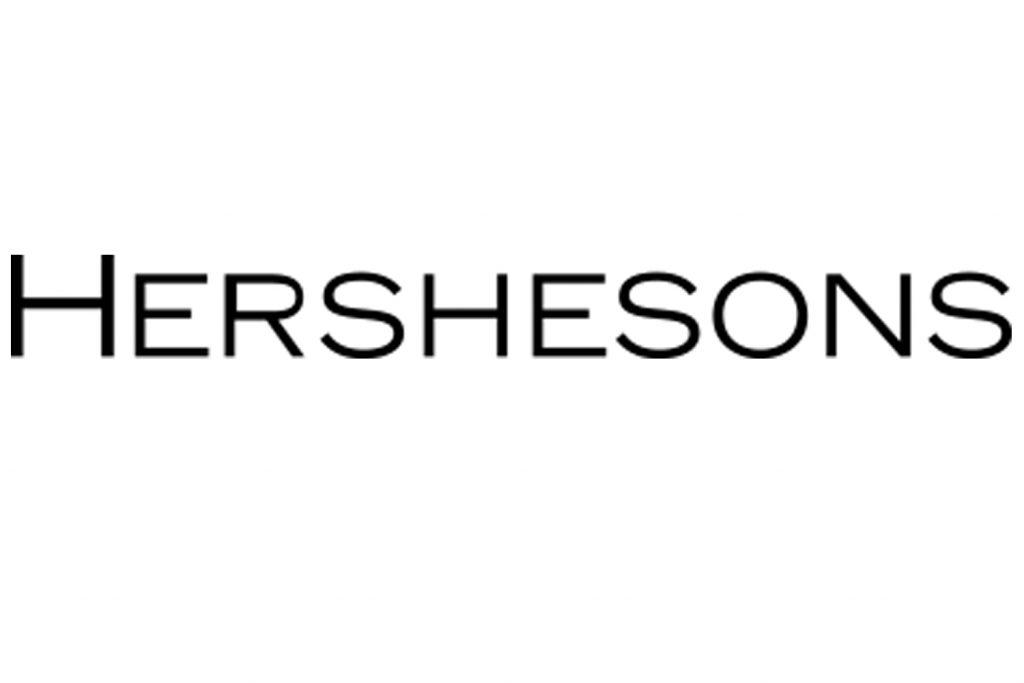 Hershesons, Hairdresser, London, PPC