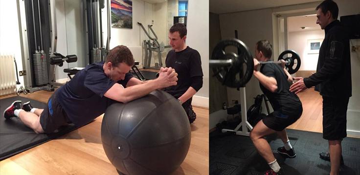 Peter Fraser Fitness, Social Media London