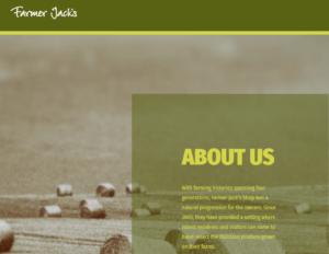 About Us Farmer Jack s Farm Shop