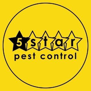 5 star pest control logo
